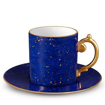 L'Objet - Lapis Espresso Cup & Saucer