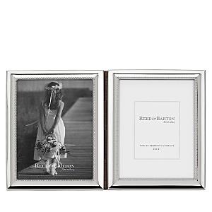 Reed & Barton Capri 3 x 5 Double Hinged Frame