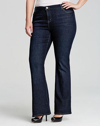 14846da441182 MICHAEL Michael Kors Plus - Stellar Bootcut Jeans
