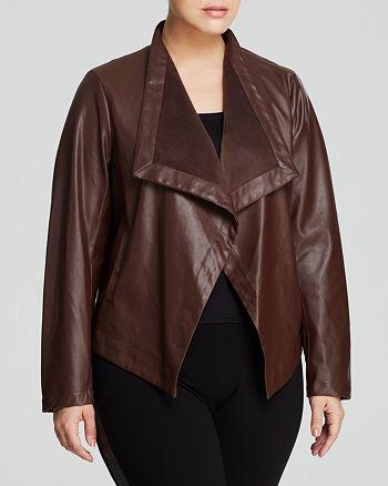 BB Dakota Plus - Autumn Faux Leather Jacket
