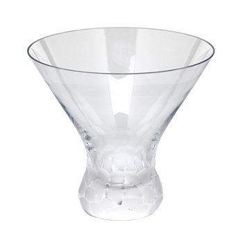 Moser - Pebbles Stemless Martini Glass
