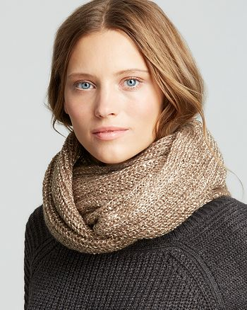 Fraas - Metallic Loop Scarf