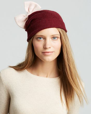a217a72705019 kate spade new york - Colorblock Bow Beanie