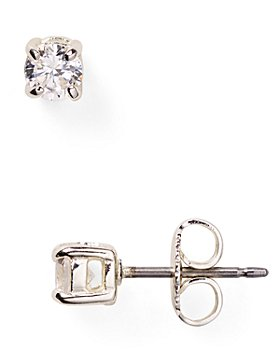 Ralph Lauren - Cubic Zirconia Stud Earrings, 4mm