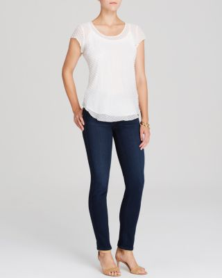 Prima Mid Rise Jeans in Jetsetter
