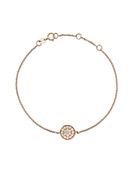 Bloomingdale's - Diamond Disc Bracelet in 14K Rose Gold, .25 ct. t.w. - 100% Exclusive