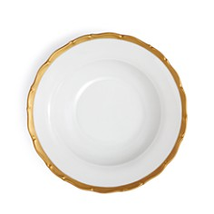 Anna Weatherley - Anna's Golden Patina Rimmed Soup Plate