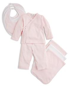Kissy Kissy Girls' Wrap-Front Shirt & Pants, Solid & Stripe Bib 3 Pack & More - Baby - Bloomingdale's_0
