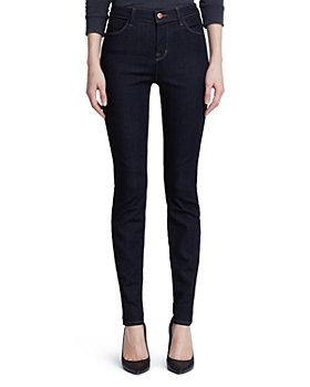 J Brand - Maria High-Rise Skinny Jeans in After Dark