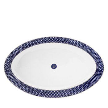 Royal Limoges - Blue Star Large Oval Platter