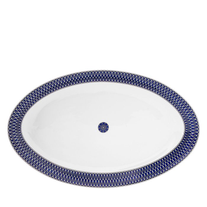 Royal Limoges - Blue Star Large Oval Platter
