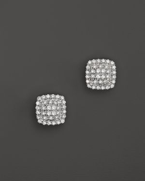 Dana Rebecca Designs Emily Sarah Earrings in White Gold with Diamonds