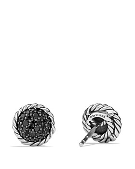 David Yurman - Châtelaine Pavé Earring with Black Diamonds
