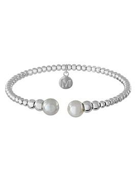 Majorica - Simulated Pearl Bead Cuff