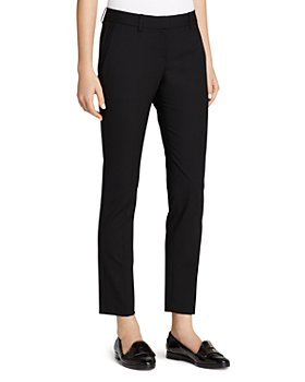 Theory - Testra Wool-Stretch Classic Crop Pants