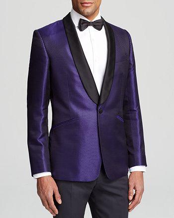 DUCHAMP - Diamond Silk Blazer - Classic Fit - 100% Exclusive