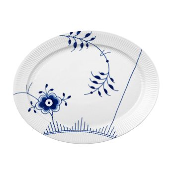 Royal Copenhagen - Blue Fluted Mega Oval Platter
