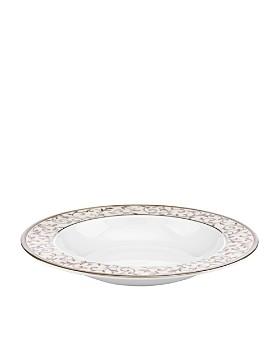 Lenox - Opal Innocence Silver Rimmed Soup Bowl