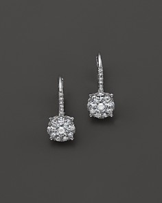 Bloomingdale's Diamond Cluster Drop Earrings in 14K White Gold, .85-1.0 ct. t.w. - 100% Exclusive_0