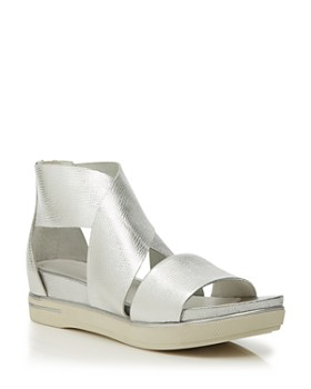 f04566b266 Eileen Fisher - Women's Sport Crisscross Wedge Platform Sandals ...