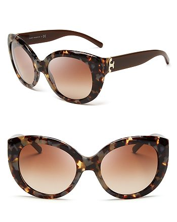 da82d58c18ea7 Tory Burch - Women s Modern Serif T Cat Eye Sunglasses