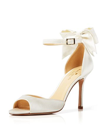 eef346ff5026 kate spade new york Open Toe Evening Sandals - Izzie Bow Back High ...