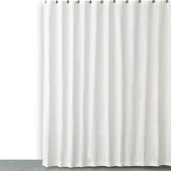Hudson Park Collection - Textured Wave Shower Curtain - 100% Exclusive