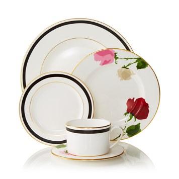 $kate spade new york Rose Park Dinnerware - Bloomingdaleu0027s  sc 1 st  Bloomingdaleu0027s & kate spade new york Rose Park Dinnerware | Bloomingdaleu0027s