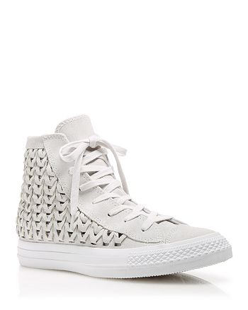 030d338d6405 Converse - High Top Sneakers - Suede Woven