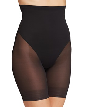 TC Fine Intimates - Sheer High-Waist Thigh Slimmer Shorts