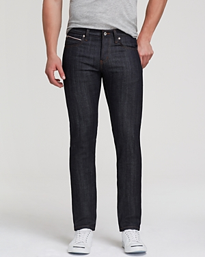 Naked & Famous Jeans - Superskinny Guy Stretch Selvedge Super Slim Fit in Deep Indigo