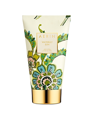 What It Is: Aerin\\\'s Waterlily Sun Body Cream leaves skin luxuriously moisturized and lightly scented with Sicilian Bergamot, Waterlily and Jasmine Sambac, paired with dewy greens. Key Notes: Sicilian bergamot, lush dewy greens, waterlily, jasmine sambac, musk About The Fragrance: Waterlily Sun reflects the tranquility of a peaceful place-quiet, warm with sunshine and filled with beautiful greens. -Aerin Like sunlight reflecting on water, bright Sicilian Bergamot and Lush Dewy Greens entice the s