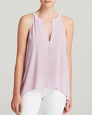 Bcbgmaxazria Nodin Top - 100% Exclusive Lavender Georgette