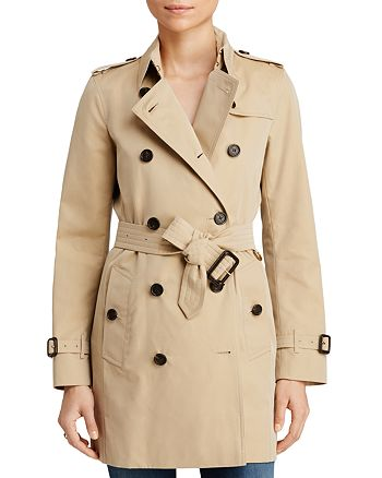Burberry - Heritage Kensington Mid-Length Trench Coat