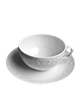 Anna Weatherley - Simply Anna White Tea Saucer
