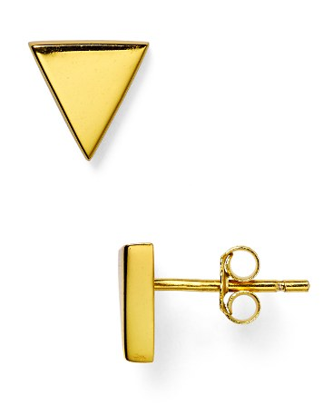 $Argento Vivo Triangle Stud Earrings - Bloomingdale's