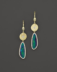 Meira T 14K Yellow Gold Opal Elongated Earrings - Bloomingdale's_0