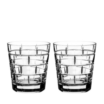 $Rogaska Quoin Double Old-Fashioned Glass, Set of 2 - Bloomingdale's