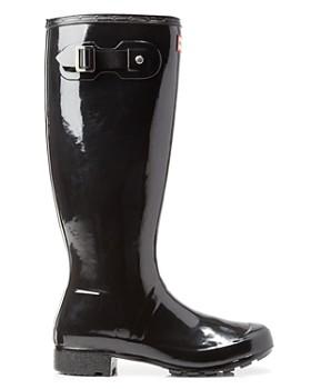 Hunter - Women's Original Tour Gloss Packable Rain Boots