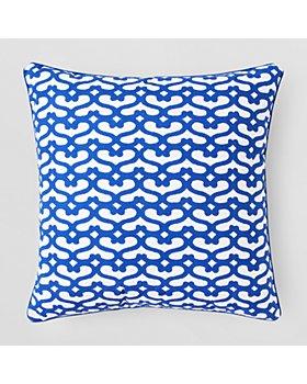 "Roller Rabbit - Big Cata Decorative Pillow Cover, 22"" x 22"""