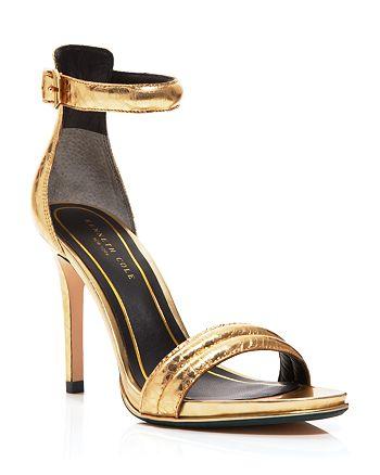 Kenneth Cole - Ankle Strap Sandals - Brooke High-Heel Metallic