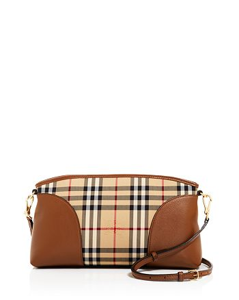 98b0b1e384c Burberry Horseferry Check Small Chichester Convertible Clutch ...