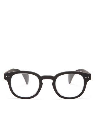 IZIPIZI Shape #C Reading Eyeglasses, Black