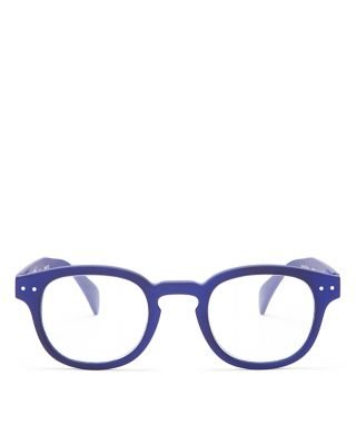 IZIPIZI Collection C Square Readers, 45Mm in Navy Blue