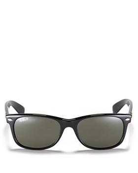 Ray-Ban - Unisex New Wayfarer Polarized Sunglasses, 52mm