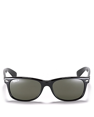 Ray Ban Sunglasses RAY-BAN UNISEX NEW WAYFARER POLARIZED SUNGLASSES, 55MM