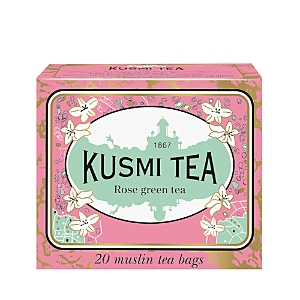Kusmi Tea Rose Green Tea Bags