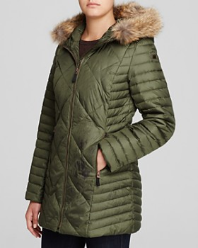 Marc New York - Kameron Fur Trim Puffer Coat