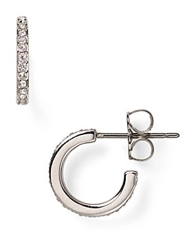 Nadri - Pavé Hoop Earrings
