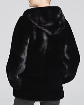 Maximilian Furs - Nafa Mink Hooded Parka